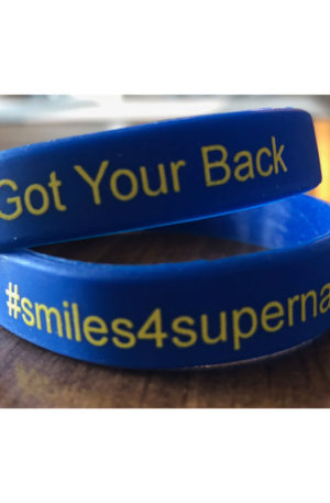 smiles 4 supernan wristbands